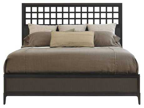 Stanley Furniture Wicker Park King Wood Panel Bed