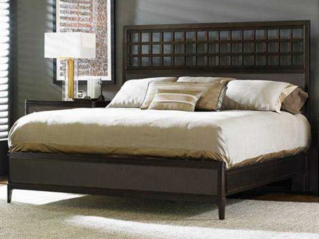 Stanley Furniture Wicker Park California King Wood Panel Bed