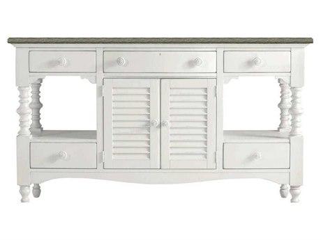 Stanley Furniture Coastal Living Retreat Saltbox White 68.06'' x 19'' Rectangular Buffet