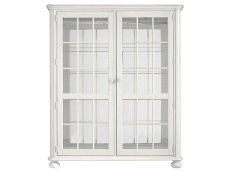 Stanley Furniture Coastal Living Retreat Saltbox White 56'' x 19'' Rectangular Newport Storage Cabinet