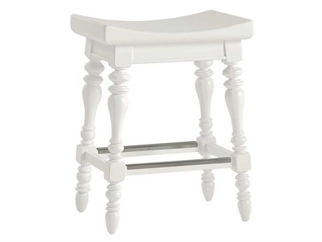 Stanley Furniture Coastal Living Retreat Saltbox White Somewhere Counter Stool