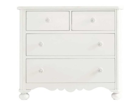 Stanley Furniture Coastal Living Retreat Saltbox White Four-Drawer Seaside Media Chest