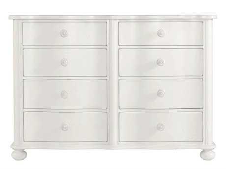 Stanley Furniture Coastal Living Retreat Saltbox White Eight-Drawer Weekend Dresser