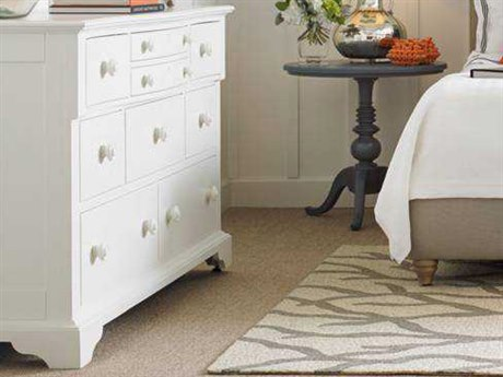 Stanley Furniture Coastal Living Retreat Saltbox White Nine-Drawer Getaway Dresser