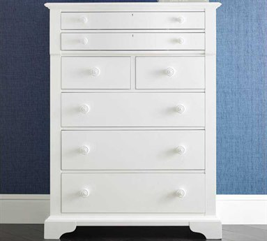 Stanley Furniture Coastal Living Retreat Saltbox White Seven-Drawer Chest