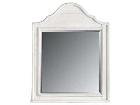 Stanley Furniture 38L x 45H Coastal Living Retreat Saltbox White Arch Top Dresser Mirror