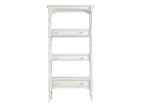 Stanley Furniture Coastal Living Retreat Saltbox White 17W'' x 75.25H Etagere Bookcase