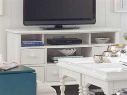 Coastal Living Retreat Saltbox White 59'' x 21'' Rectangular Media Console TV Stand