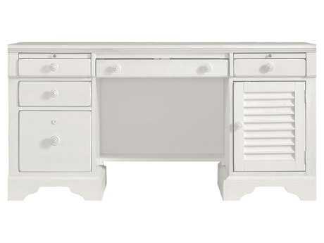 Stanley Furniture Coastal Living Retreat Saltbox White 62.375'' x 24'' Rectangular Computer File Desk