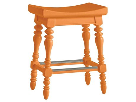 Stanley Furniture Coastal Living Retreat Spanish Orange Somewhere Counter Stool