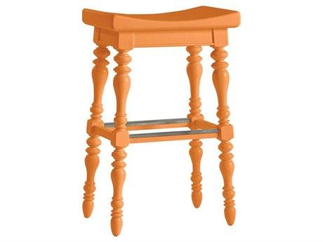 Stanley Furniture Coastal Living Retreat Spanish Orange Somewhere Bar Stool
