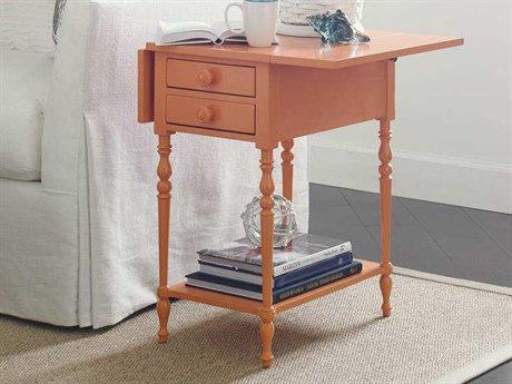 Stanley Furniture Coastal Living Retreat Spanish Orange 29'' x 22'' Rectangular Chesapeake Table