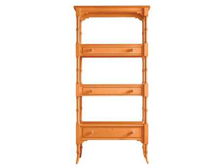 Stanley Furniture Coastal Living Retreat Spanish Orange 17W'' x 75.25H Etagere Bookcase