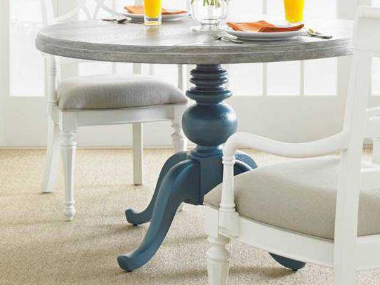 Coastal Living Dining Table: Stanley Furniture Coastal Living Retreat English Blue 48
