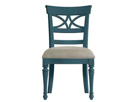 Stanley Furniture Coastal Living Retreat English Blue Sea Watch Dining Side Chair