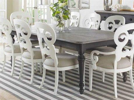 Coastal Living Retreat Gloucester Grey 72 X 44 Rectangular Dining Table