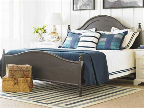 Stanley Furniture Coastal Living Retreat Gloucester Grey King Bungalow Panel Bed