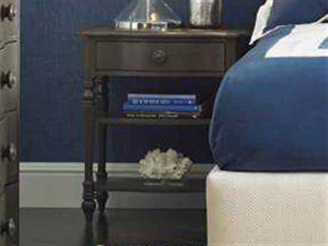 Stanley Furniture Coastal Living Retreat Gloucester Grey 26'' x 18.25'' Rectangular Bedside Table