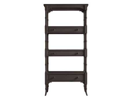 Stanley Furniture Coastal Living Retreat Gloucester Grey 17W'' x 75.25H Etagere Bookcase