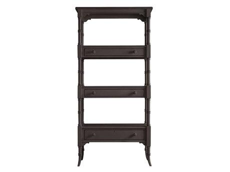 Stanley Furniture Coastal Living Retreat Gloucester Grey 17W'' x 75.25H Etagere Bookcase