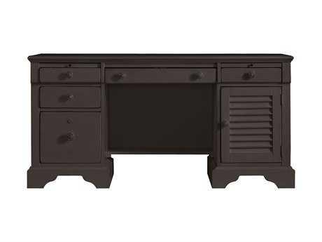 Stanley Furniture Coastal Living Retreat Gloucester Grey 62.375'' x 24'' Rectangular Computer File Desk