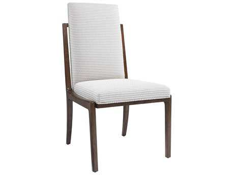 Stanley Furniture Fairlane Fiddle Upholstered Dining Host Chair
