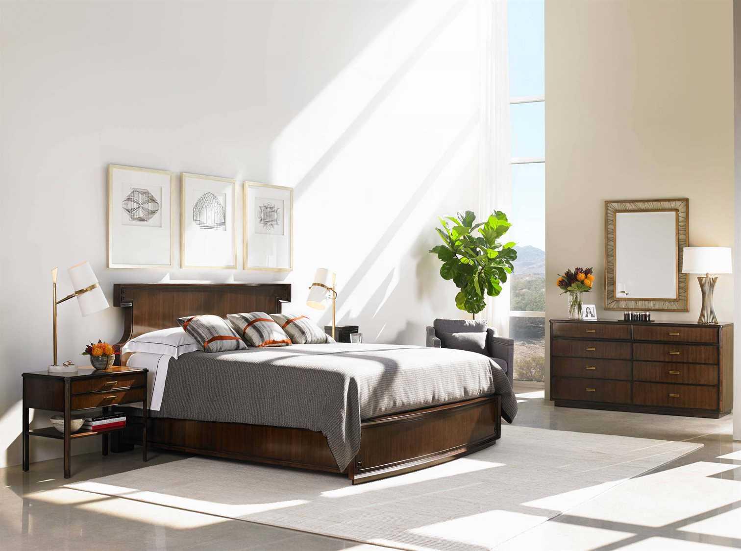 stanley furniture crestaire bedroom set sl4361340set