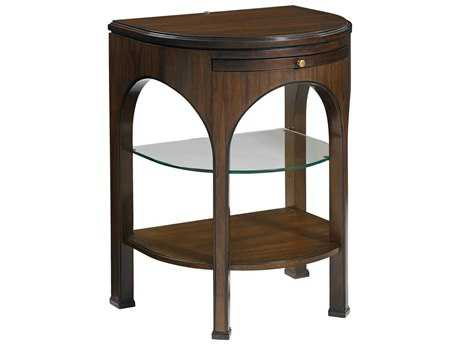 Stanley Furniture Crestaire Porter 22'' x 18'' Demilune Alexander Telephone Table