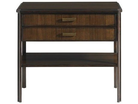 Stanley Furniture Crestaire Porter 30'' x 18'' Rectangular Southridge Bedside Table