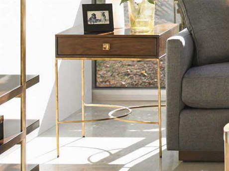 Stanley Furniture Crestaire Porter 22'' x 26'' Rectangular Oscar End Table