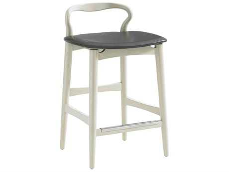 Stanley Furniture Crestaire Capiz Hooper Counter Stool