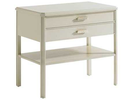 Stanley Furniture Crestaire Capiz 30'' x 18'' Rectangular Southridge Bedside Table