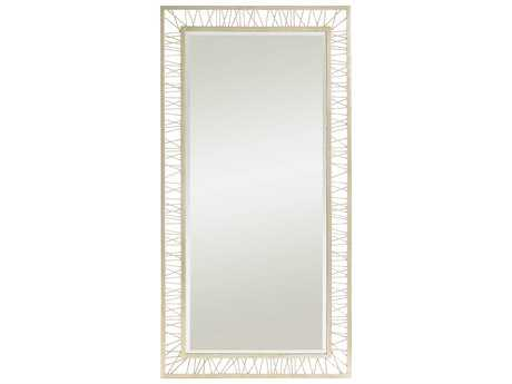 Stanley Furniture Crestaire Argent 40.5L x 79H Rectangular Palm Canyon Floor Mirror