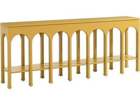 Stanley Furniture Crestaire Saffron 86'' x 15'' Rectangular Brooks Console Table