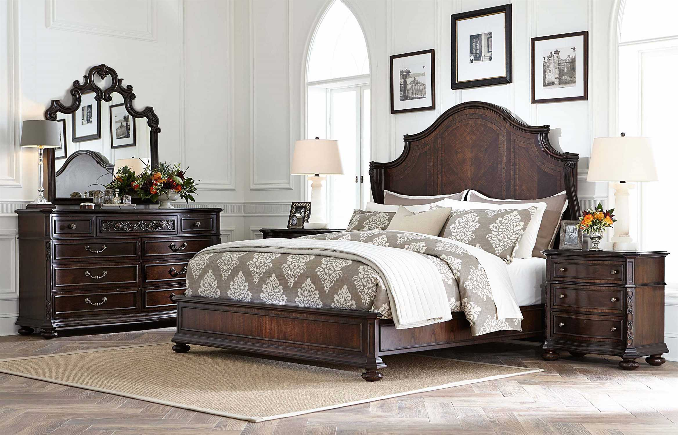 stanley furniture casa d 39 onore bedroom set sl4431342set