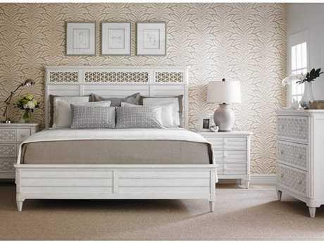 Stanley Furniture Cypress Panel Bed Bedroom Set