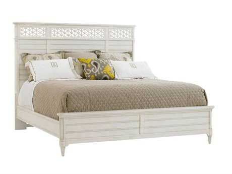 Stanley Furniture Cypress Grove California King Wood Panel Bed