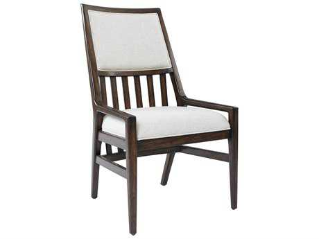 Stanley Furniture Newel Date Upholstered Back Dining Arm Chair