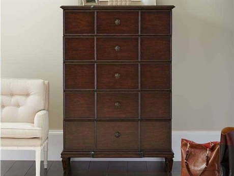 Stanley Furniture Villa Couture Mottled Walnut Lucio Chest