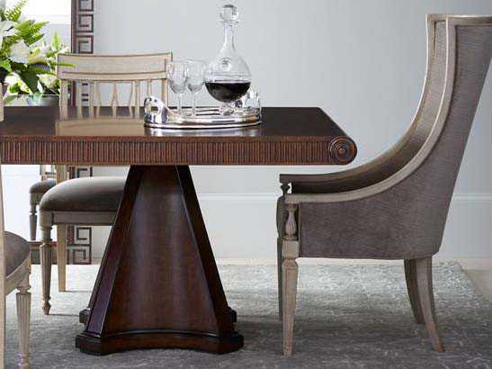 Stanley furniture villa couture dining room set for Stanley furniture dining room sets