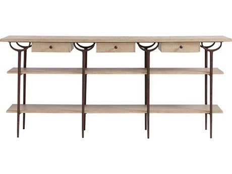 Stanley Furniture Villa Couture Glaze 75''L x 16''W Rectangular Asti Console Table