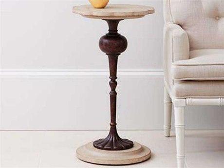Stanley Furniture Villa Couture Glaze 14'' Round Fiore Martini Table