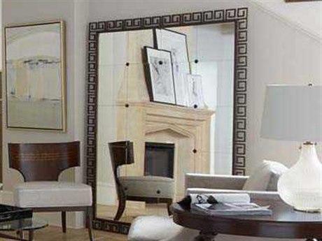 Stanley Furniture Villa Couture Antique Bronze 59.5''L x 73.25''H Rectangular Veronica Floor Mirror