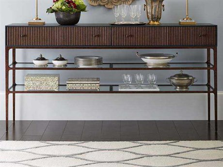 Stanley Furniture Villa Couture Bluestone 78.125''L x 16''W Rectangular Serena Sideboard