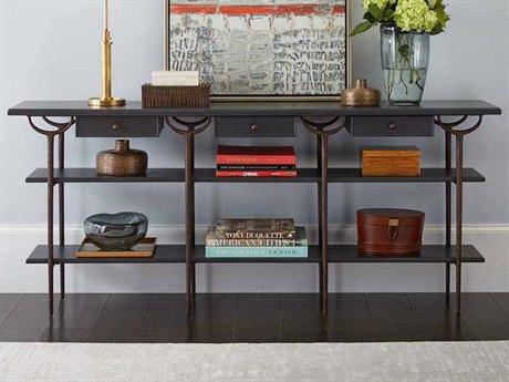 Stanley Furniture Villa Couture Bluestone 75''L x 16''W Rectangular Asti Console Table