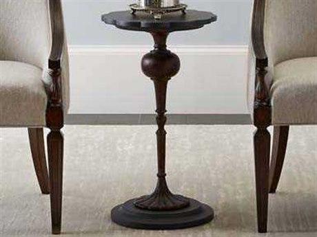 Stanley Furniture Villa Couture Bluestone 14'' Round Fiore Martini Table