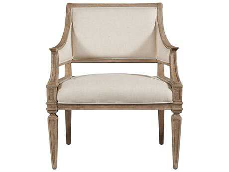 Stanley Furniture Wethersfield Estate Brimfield Oak & Fawn Accent Chair