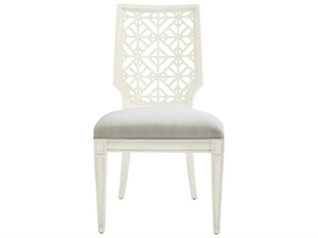 Stanley Furniture Coastal Living Oasis Saltbox White Catalina Dining Side Chair