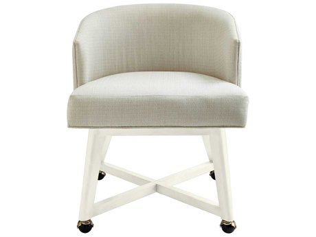 Stanley Furniture Coastal Living Oasis Saltbox White Carlyle Dining Arm Chair