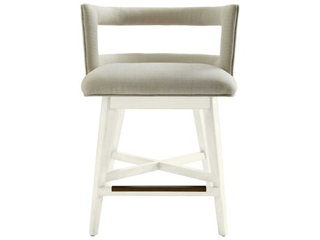 Stanley Furniture Coastal Living Oasis Saltbox White Crestwood Counter Stool